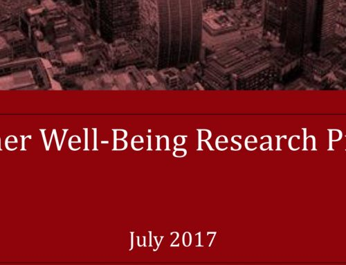 Teacher Well-Being Research Report