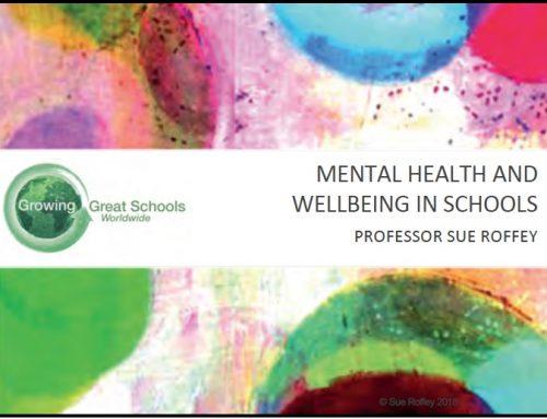 The rising challenge of mental health in schools – keynote & workshop
