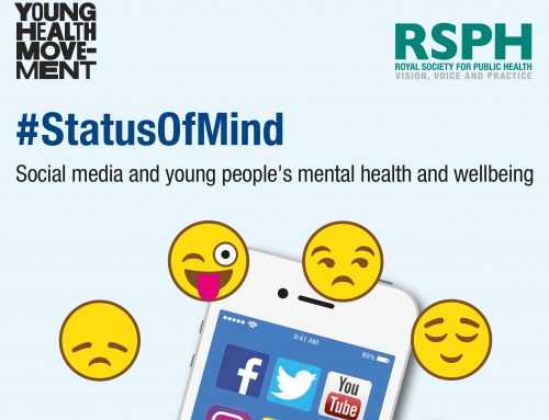 Effects of social media on young people's health