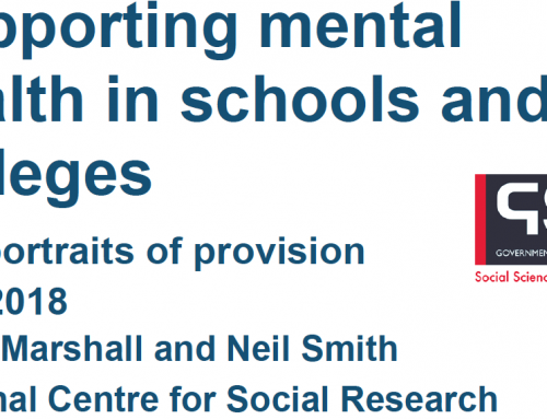 Supporting mental health in schools and colleges