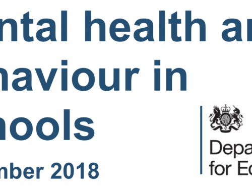 Mental health & behaviour in schools: new DfE guidance Nov 2018