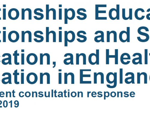 UK Govt response to the relationship curricula consultation