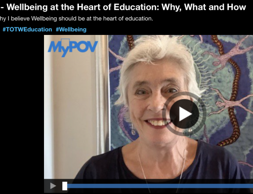 Why I believe Wellbeing should be at the heart of education