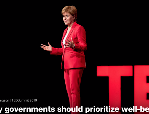 Nicola Sturgeon: Why governments should prioritise wellbeing