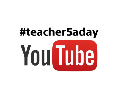 #teacher5aday week – check the Youtube channel!